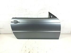 BMW 3 Series E46 Coupe Vert 2003-2006 Driver Side Front Door In Silvergrey A08