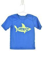 The Children's Place Boys Swimwear Rashguards 2T Blue Polyester