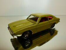 MARKLIN FORD CAPRI - LHD - OLIVE GREEN 1:43 - GOOD CONDITION