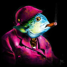 UNCLE SUSHI BY PATRICE MURCIANO ROCK SLATE ART PRINT
