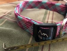 5280 DOG Pink Nylon Braided Collar, small By: 5280 Dog