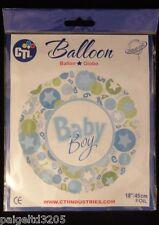 "Cti Baby Boy Foil Balloon 18""/45 cm Item#114866"