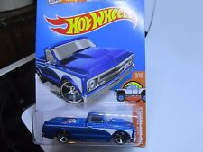 HOT WHEELS 2016 143/250 '67 CHEVY C10 LONG CARD