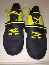 Reebok Crossfit Men's Power Weight Lifting Shoes US 8.5 UK7.5 CF74 600501 Yellow