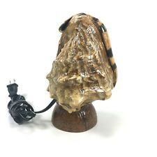 Vintage Conch Welp Shell Lamp On Coconut Beach Theme-Works