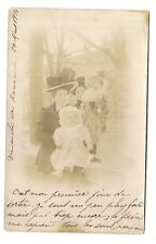 photo carte postale    petits enfants (1016g)