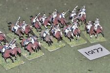 20mm plastic napoleonic french cuirassiers (as photo) (10177)