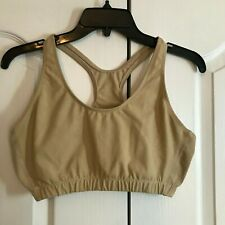 Tan Almost Perfect Sports / PT Bra  Flame Resistant  Large