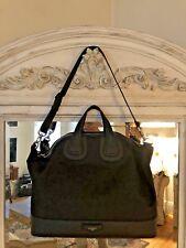 4692144d9c88 Givenchy Nightingale UNISEX canvas   Leather Overnight Bag
