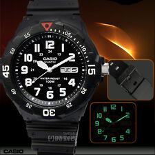 Reloj Casio Analogico MRW 200H ORIGINAL Resistente al Agua Negro Pulsera Vintage