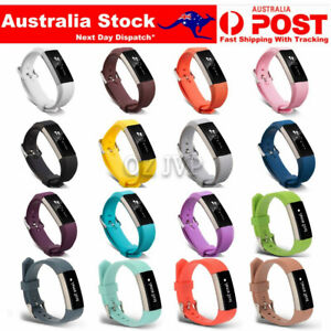 Fitbit Alta / Alta HR Replacement Band Silicone Wrist Watch Band Secure Buckle