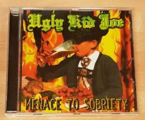 UGLY KID JOE 'MENACE TO SOBRIETY' CD ALBUM