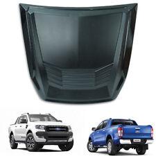Bonnet Hood Scoop Cover Matte / Polish Black For Ford Ranger T6 Pickup 2015 - 17