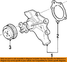 Jeep CHRYSLER OEM 2000 Cherokee 4.0L-L6-Water Pump Gasket 53020419