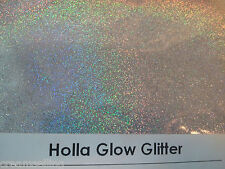 1 oz HOLLA GLOW GLITTER Mica Crafts Silk Microfine Glitter Powder Free Shipping!