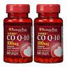 CoQ10 CO Q-10, CoQ-10, 100 mg 2X60 Softgels USA Q-Sorb™ Coenzyme Puritan's Pride