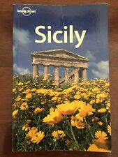 LONELY PLANET USED SICILY TRAVEL GUIDE BOOK AUS STOCK