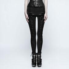 Punk Rave Nocturn Warm Leggings (met fleece voering) Gothic Lolita Elegant K-294