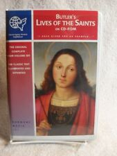 BUTLER'S LIVES OF THE SAINTS (on CD-ROM) VERY RARE AUDIO Book