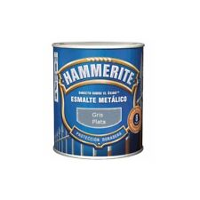 Esmalte Hammerite gris plata 750 ml
