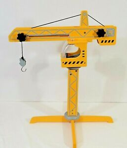 Awesome HAPE Playscapes Wooden Toy Mechanical Crane Construction Irish Wood