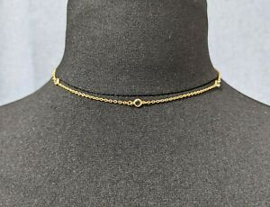 Lovely Vintage Crystal Necklace Choker by Accents by hallmark cards Jewellery