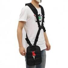 Double Shoulder Strimmer Padded Belt Harness Strap for Brush Cutter& Trimmer