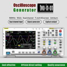 Generator Oscilloscope Abs Portable Digital Lcd Display Screen Usb Power Device