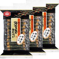 Kameda Norimaki Senbei Rice Cracker with Nori Seaweed Japanese Snack 3 Bags