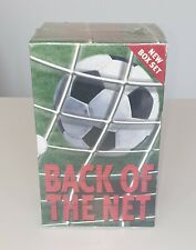 Back of the Net: 5 Football Biography Box Set (David Beckham/George Best) Sealed