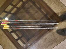 "Carbon Express Maxima Hunter 350 Carbon Arrow Arrows 4"" Vanes 60-75lb 29.5"""