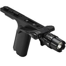 NcSTAR VISM M-LOK Black Tactical Vertical Grip 250 Lumen LED Strobe Flashlight