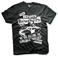 Official The Blues Brothers Putting The Band Back Together T-Shirt
