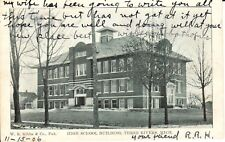 1906 The High School in Three Rivers, MI Michigan PC