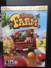 Little Farm,The Farm Fresh Matching Game, PC CD-Rom Software Video Game, 2008