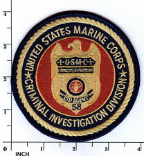 USMC Criminal Investigation Division color PATCH Marines CID Military Police MP