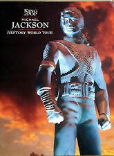 Michael Jackson - HISTORY WORLD TOUR - TOURBOOK von 1996 - Gr. ca. 30 x 40 cm