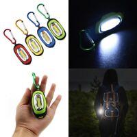 Outdoor Mini COB Light LED FlashLight Key Ring Torch Keychain Lamp Portable