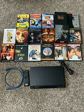 Sony Dvd Player w/Remote and Hdmi Cable and 17 Dvd Collection