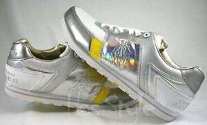 Christian Audigier Michael Jackson Limited Edition Shoes White Silver Rainbow
