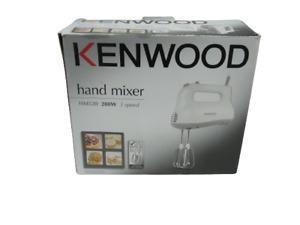 Kenwood 3 Speed Hand Mixer HM520 Working White 280W