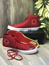 Sneakers Men's Converse Chuck Taylor 2 Flyknit Canvas Red Lunarlon 156737C