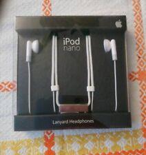 New Apple 1st Generation iPod Nano Lanyard Headphones MA093 G/A . Brand New