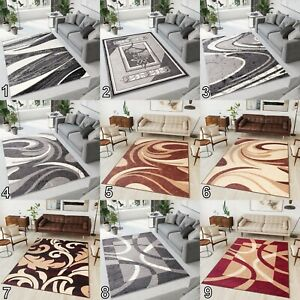SMALL EXTRA LARGE BEAUTIFUL MODERN RUGS TOP DESIGN LIVING ROOM Different Sizes