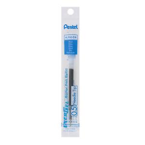 Pentel Refill For Pentel Energel Retractable Liquid Gel Pens, Needle Tip, Fine P