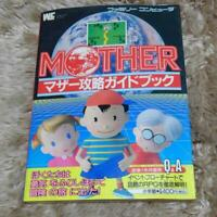 MOTHER Strategy Guide w/Map Book Japan Nintendo Famicom