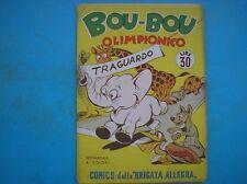 NERBINI COMICS DELLA BRIGATA ALLEGRA 22 BOU BOU OLIMPIONICO 1950