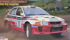 MITSUBISHI LANCER EVOLUTION V 1998 WRC CHAMPION - KIT HASEGAWA 25091 - 1/24