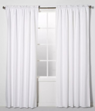 """Eclipse Braxton Thermaback Blackout (1) Curtain Panel 63""""x42"""""""