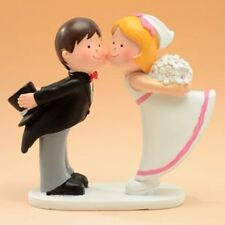 28975 CAKE TOPPER SPOSINI PER TORTA MATRIMONIO NUZIALE WEDDING CAKE SPOSI NOZZE